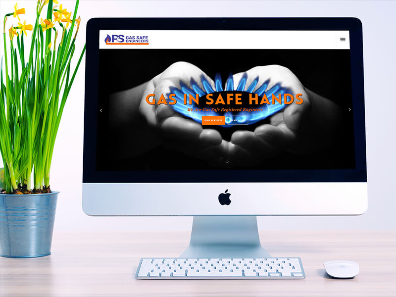 P and S Gas Safe Engineers Portfolio Creative Juice